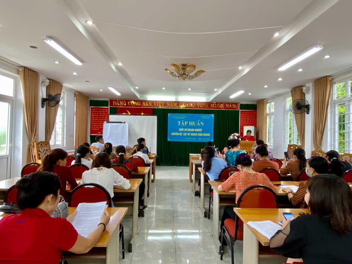 Sở Kế hoạch và Đầu tư Vĩnh Phúc khai giảng chương trình khởi sự doanh nghiệp chuyên đề lập kế hoạch kinh doanh