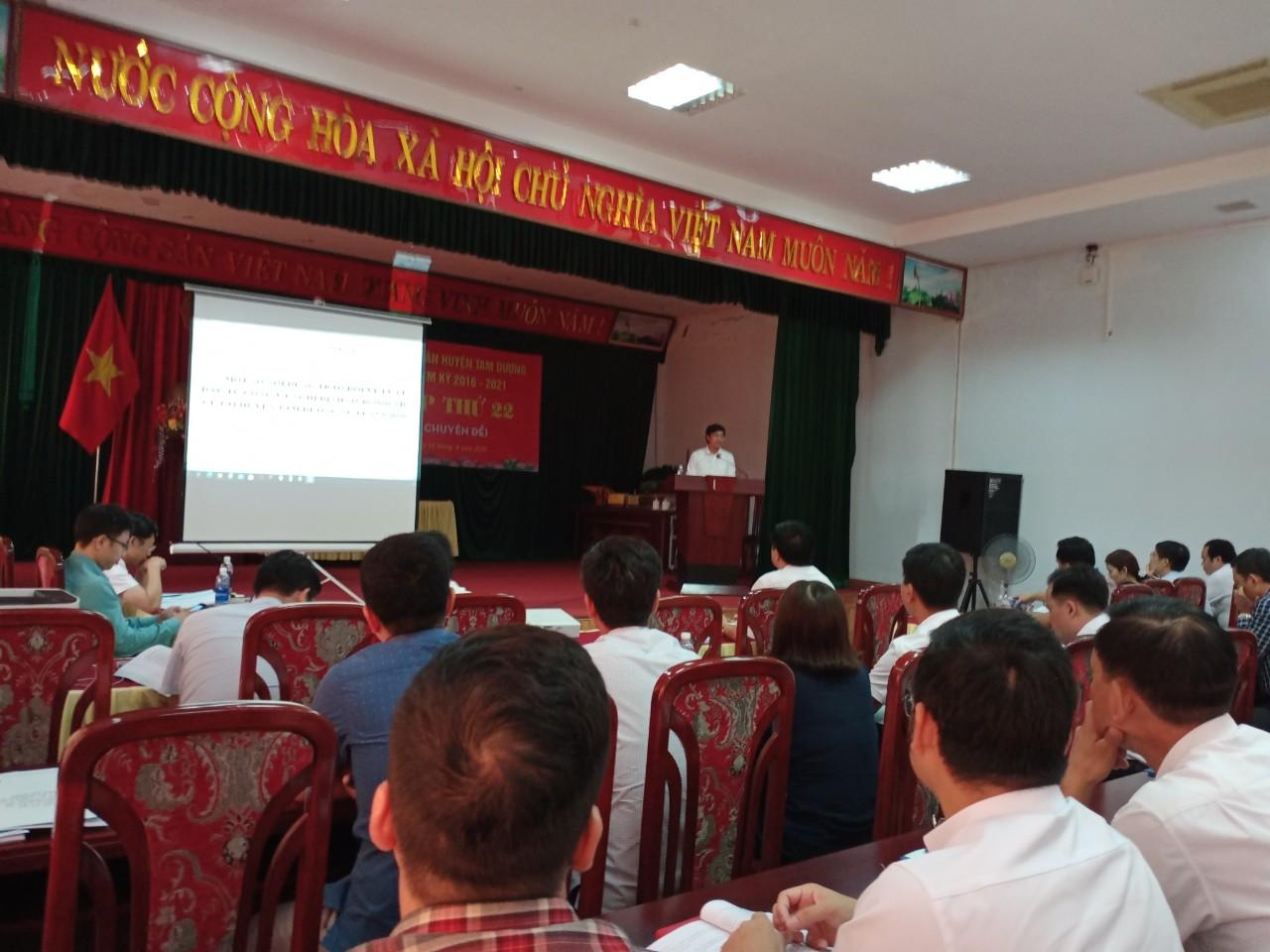 Tháo gỡ khó khăn, vướng mắc trong triển khai thực hiện Luật Đầu tư công năm 2019 trên địa bàn huyện Tam Dương
