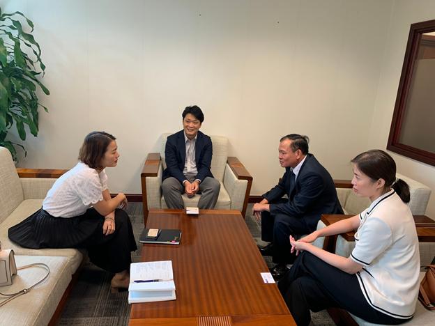 Vĩnh Phúc thúc đẩy mối quan hệ hợp tác với Ngân hàng Mizuho Nhật Bản