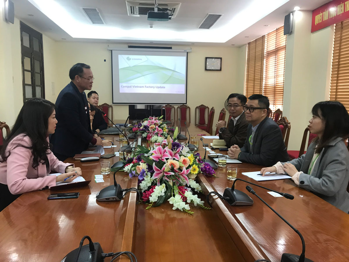 Tỉnh Vĩnh Phúc tăng cường công tác hỗ trợ doanh nghiệp Đài Loan