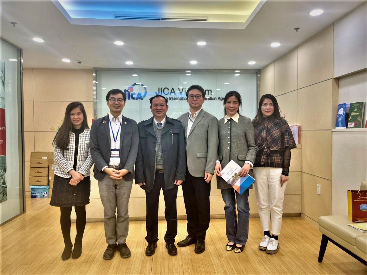 Sở Kế hoạch và Đầu tư tỉnh Vĩnh Phúc tăng cường hợp tác với các tổ chức xúc tiến đầu tư Nhật Bản