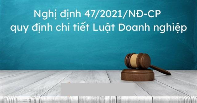 Chính phủ ban hành Nghị định quy định chi tiết và hướng dẫn thi hành Luật doanh nghiệp 2020