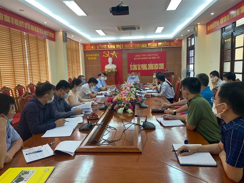 Chương trình Lãnh đạo UBND tỉnh Vĩnh Phúc gặp gỡ doanh nhân tuần thứ 27, năm 2021